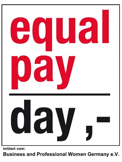 Logo equal pay day©Stadt Winsen